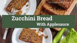 zucchini break with applesauce