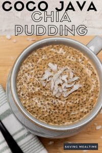 Coco Java Chia Pudding