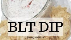 BLT Dip Banner