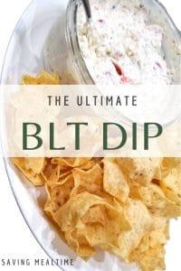 BLT Dip by Saving Mealtime