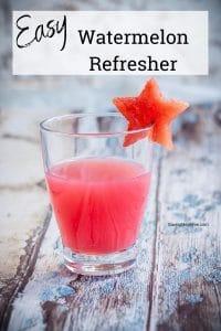 Easy Watermelon Refresher