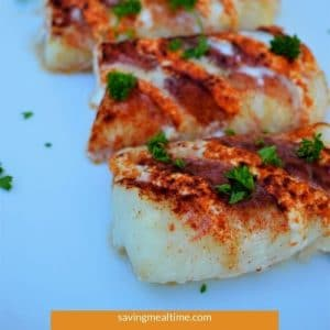 Smoked Ranch Baked Cod