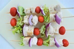 Grilled Chicken Caesar Salad Skewers 2
