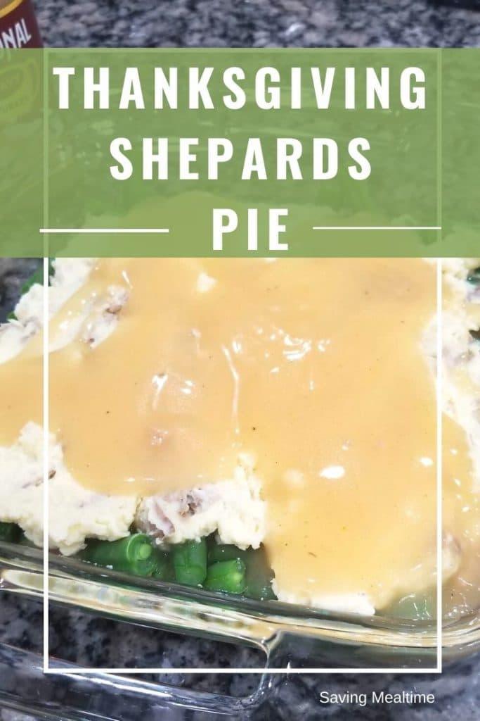 Thanksgiving Shepards Pie