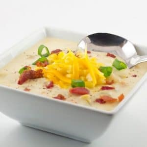 Slow Cooker BBQ Chicken Corn Chowder
