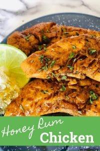 Honey Rum Chicken