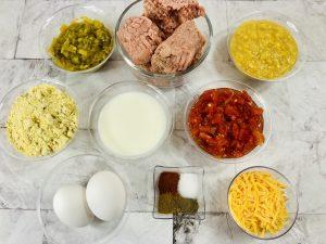 Tamale Bake Ingredients