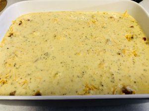 Cornbread topping