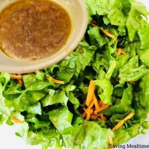 Honey Ginger Salad