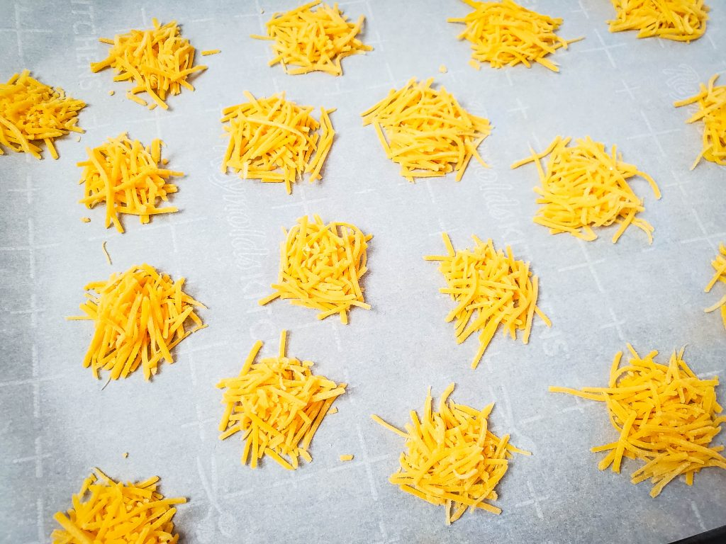 Shredded Cheese Rounds