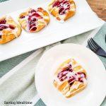 Cherry Cheese Crescent Pastries