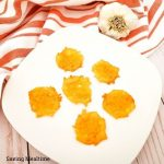 Easy Keto Garlic Cheese Chips