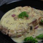 Pork Chops with Mushroom Gravy