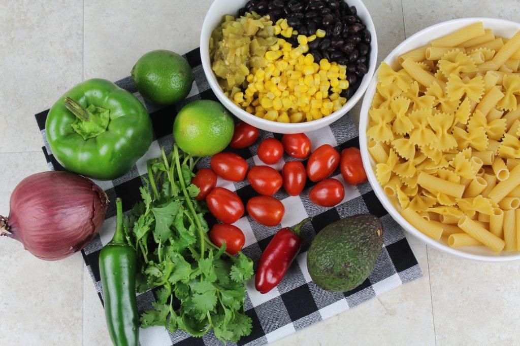 Fresh Veggie Ingredients