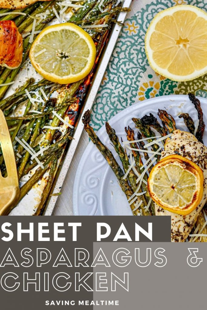 Sheet Pan Asparagus and Chicken
