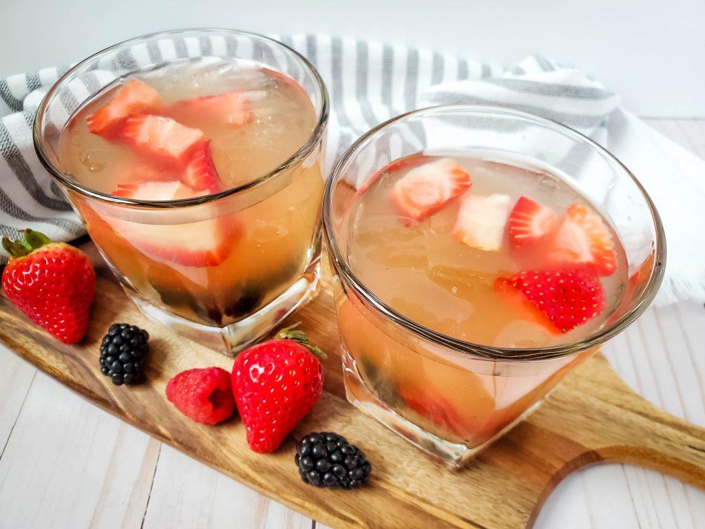 Berry Brandy Sangria