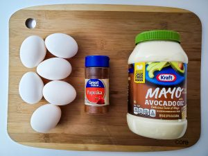 Deviled Egg Ingredients