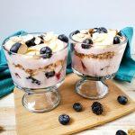 Easy Fruit and Yogurt Trifle