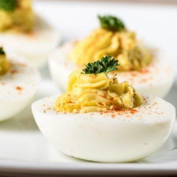 Quick Easy Deviled Eggs