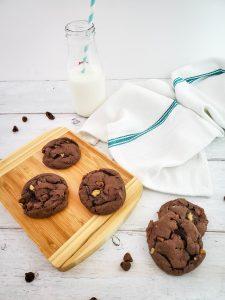 Choc Walnut Cookies