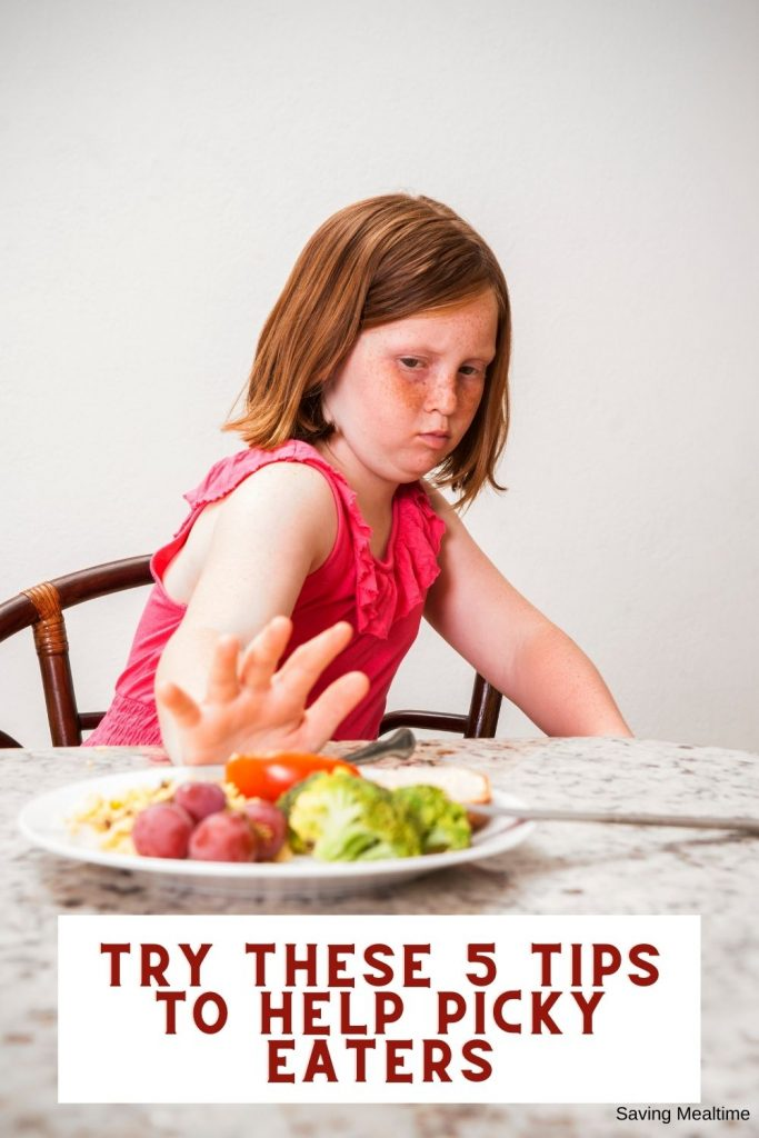 Try These 5 Tips to Help Picky Eaters