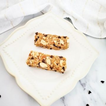 Almond and Coconut Bliss Granola Bars