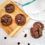 Double Chocolate Walnut Cake Mix Cookies