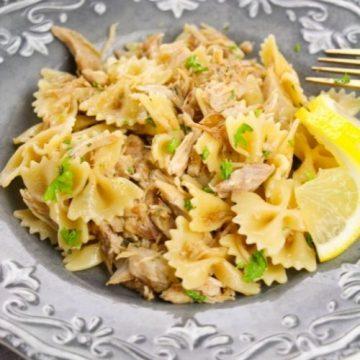 Garlic Chicken Pasta