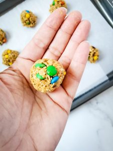 Cookie Sized Balls
