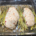 Baked Chicken and Asparagus