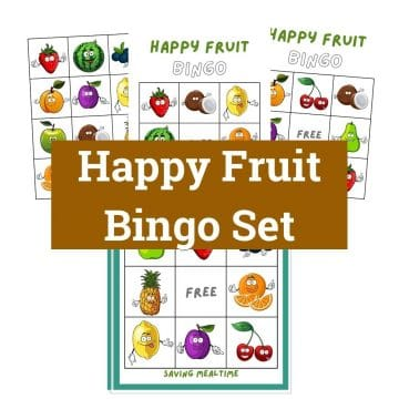 Happy Fruit Bingo Set